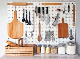 pegboard ideas kitchen we wish we d seen these genius pegboard ideas sooner pantry