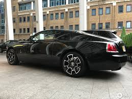 rolls royce wraith black badge 3 february 2017 autogespot