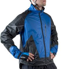 cycling jacket blue tall man windproof and waterproof cycling jacket
