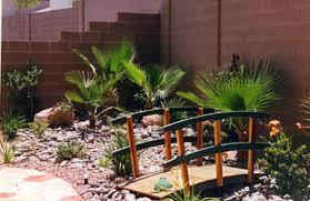 Desert Backyard Landscaping Ideas Desert Backyard Landscaping Ideas I Like The Little Bridge