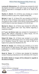 Active Bench Warrant Elmira Police Dept Elmirapolice Twitter