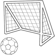 soccer ball net sports coloring pages boys coloring pages