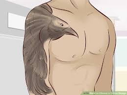 simple vulture tattoo 2 simple ways to choose a tattoo design wikihow