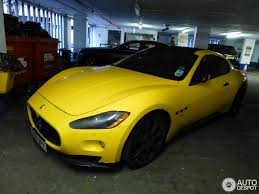 yellow maserati maserati granturismo s mc sport line 17 november 2012 autogespot