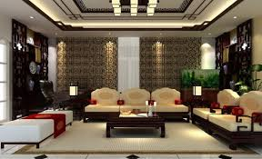 Chinese Living Room Chinese Living Dining Room Decoration 3d Design Chinese Living