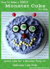 simple monster cake