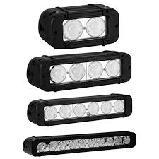 low profile led light bar rtx low profile single row spot beam led light bar partsengine