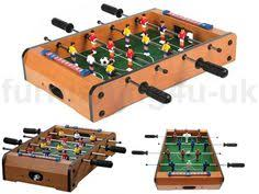 table top football games wooden vintage foosball table new furniture trends foosball