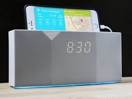 amazon com witti beddi smart radio alarm clock speaker with smart