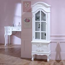 antique white storage cabinet antique white tall display cabinet with drawers pays blanc range