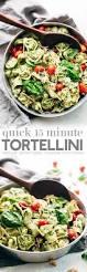 15 minute spinach pesto tortellini salad recipe little spice jar