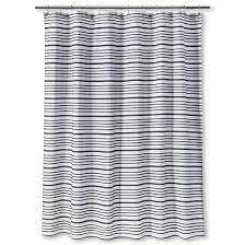 Target Gray Shower Curtain Multi Stripe Shower Curtain Black Threshold Target