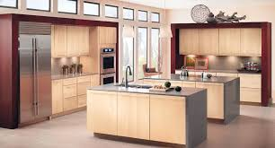 kitchen with light maple cabinets light maple kitchen cabinets in kraftmaid