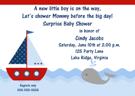 printable baby shower invitations for boys printable sailboat baby shower invitation
