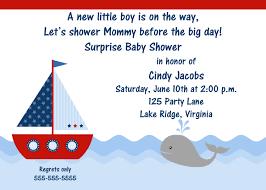 printable sailboat baby shower invitation