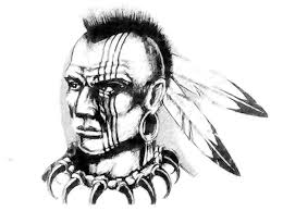 indian tribal tattoos drawings pictures to pin on pinterest