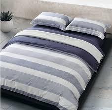 amazon com cabana stripe modern duvet cover 100 cotton twill