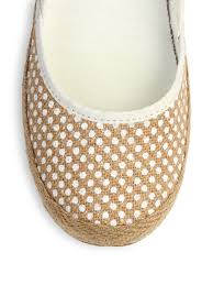 ugg womens indah shoes lyst ugg indah woven burlap slip on flats in