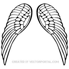 wings design free vector 123freevectors