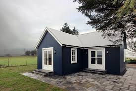 one houses a small traditionally styled scottish house by modular builder the