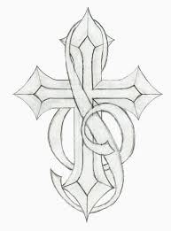 cross tattoo with music notes music note tattoo sketches pic 22