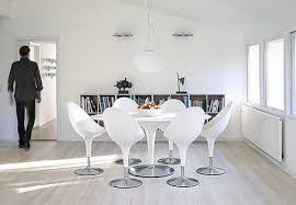 apartment favorable white nuance living room using white wood