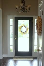 How To Paint An Interior Door Painting The Inside Of The Front Door Black