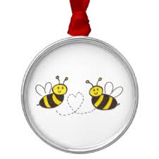 honey bee ornaments keepsake ornaments zazzle