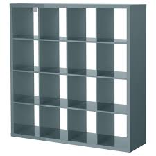 Malm Bookshelf Kallax Shelf Unit Black Brown Ikea