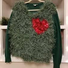grinch christmas sweater top women s grinch christmas sweater on poshmark