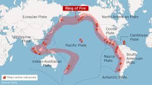 Ring Of Fire Map Total Recall The Cnn News Quiz Cnn