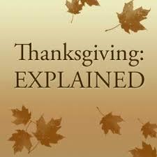 thanksgiving explained script the skit guys