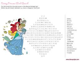 printable disney word games disney u0027s wonders