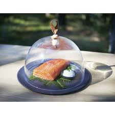 cuisine pro 27 large glass cloche table decoration unveiled by revol