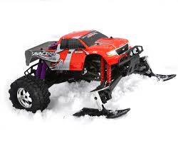 conquistador nitro rc monster truck hpi savage 21 25 ss x u0026 xl winter ski conversion kit by fullforce