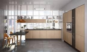 contemporary kitchen aluminum laminate island penelope