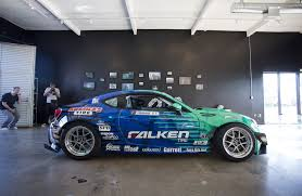 subaru brz drift formula d falken tire subaru brz first look w video photo