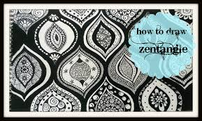 zen of design patterns how to draw a zen tangle doodle youtube