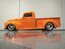 Classic Ford Truck 1940 - orange crush this 1940 ford is one stunning street rod ford