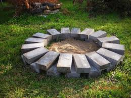 How To Make Fire Pits - build a fire ring or pit