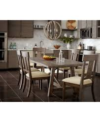 kitchen furniture set ember 6 dining room furniture set created for macy s