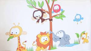 kids bedroom wall stickers youtube