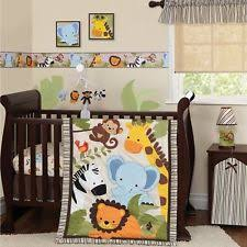 Cheap Crib Bedding For Boys Jungle Crib Bedding Ebay