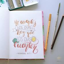 drawing layout en espanol caligrafía o hand lettering en español frases motivadoras y