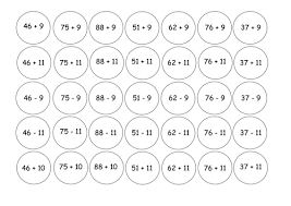 connect 4 add subtract 10 11 and 9 by gepocock teaching