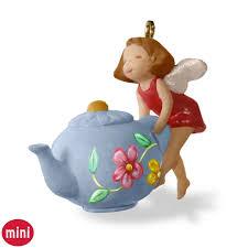 a spot of tea mini teapot ornament keepsake ornaments