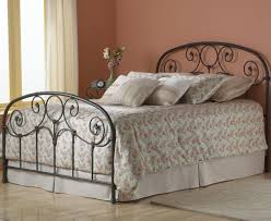 bedroom antique headboard wrought iron and wood headboard