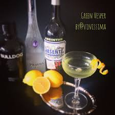 vesper martini james bond cocktail lillet blanc vinissima