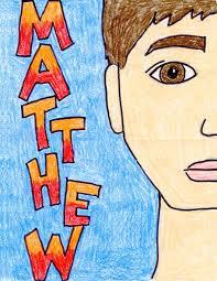 half portrait tutorial art projects for kids