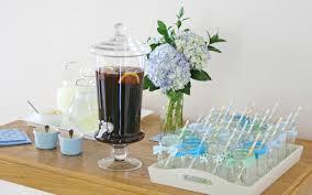 drink table vintage bunting baby shower u2013 glorious treats